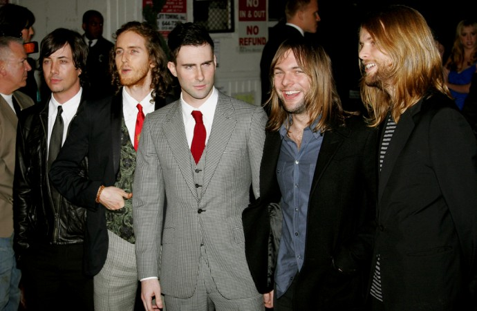 Maroon 5 Make Top of Billboard Hot Tour List