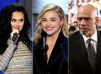 Katy Perry, Chloë Grace Moretz, and Other Stars 'Rise' and 'Roar' on Night 4 of the DNC