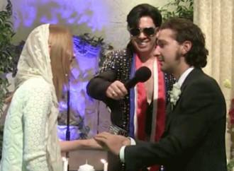Shia LaBeouf's Las Vegas Wedding Not Legal