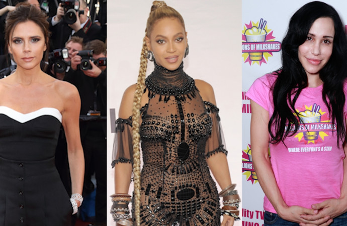 Victoria Beckham, Beyoncé, Octomom, and Other Stars With Trademarked Names