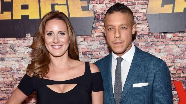 Theo Rossi and Wife Meghan McDermott Dish on Baby No. 2 at 'Lowriders' Premiere