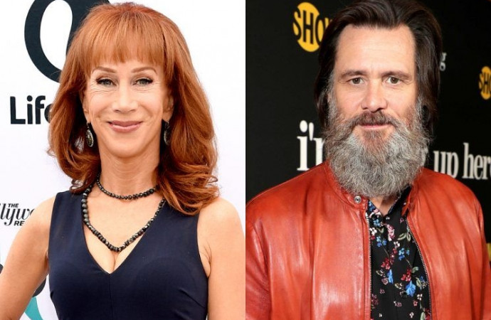 Jim Carrey Defends Kathy Griffin Amid Trump Photo Scandal: 'Hold Up a Severed Leg as Well!'