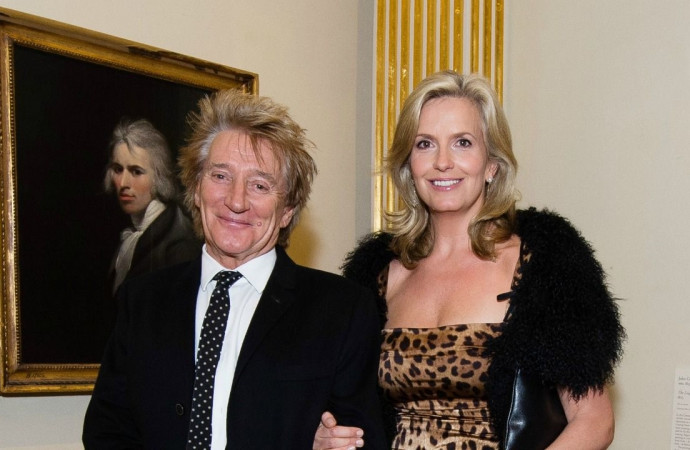 Rod Stewart and Penny Lancaster Renew Their Wedding Vows — 10 Years Later