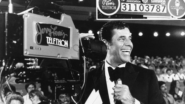 Jerry Lewis and TV: A love-hate relationship