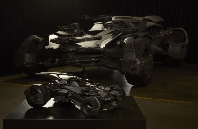 #BatmanDay: Let's celebrate with this look at the insane 'Justice League' RC Batmobile