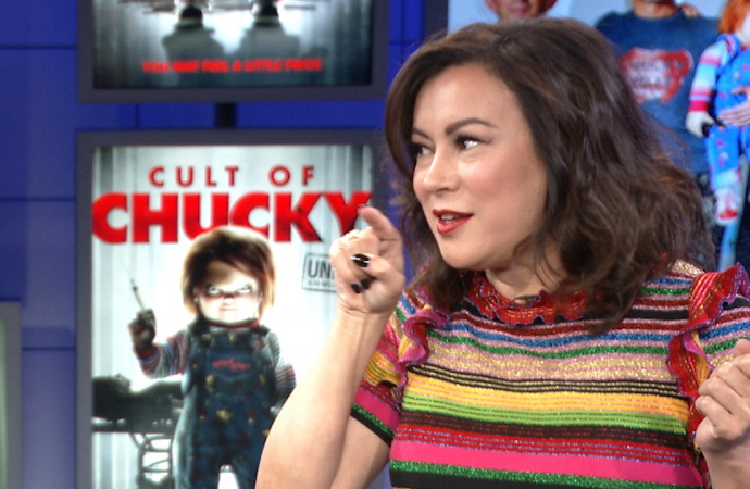 Film History 101: Jennifer Tilly reminds us that 'Bride of Chucky,' not 'Team America,' pioneered doll sex in movies