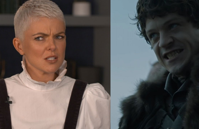 'Inhumans' star Serinda Swan on Iwan Rheon's vicious 'Game of Thrones' past: 'You horrible man!'