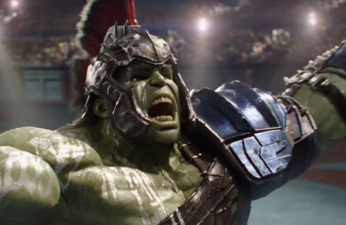 The Hulk gets ready to rumble in Thor: Ragnarok clip