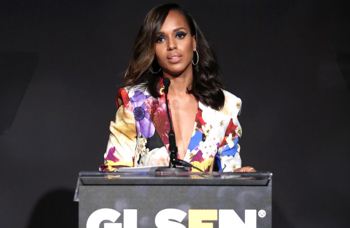 Kerry Washington calls current climate 'horrific dream' in moving GLSEN speech about LGBTQ rights