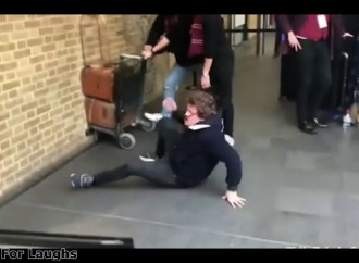 'Harry Potter' prank proves what happens when you're kicked out of Hogwarts
