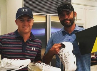 Jordan Spieth Rocks Steph Curry's Under Armour Shoes at U.S. Open