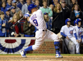 Javier Baez walked his way into Cubs history with game-winning home run