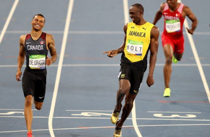 Usain Bolt on close 200 finish: I wanted to take it easy, Andre De Grasse had other ideas