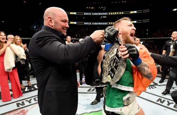 Conor McGregor: I'm still the featherweight champ