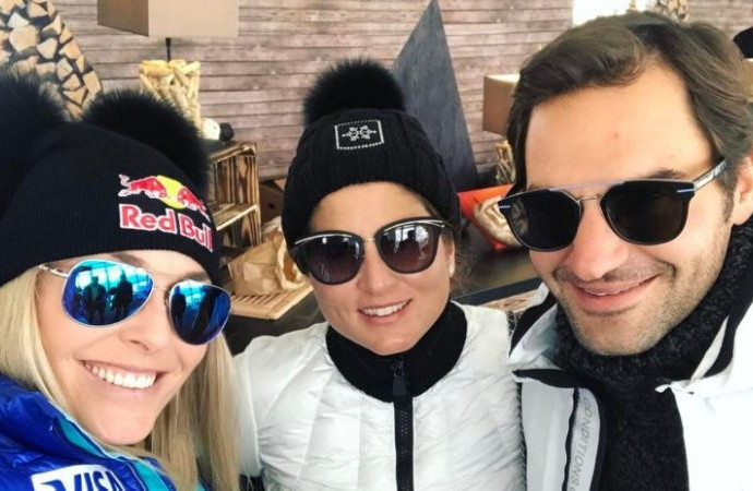 Roger Federer: from the courts to the slopes