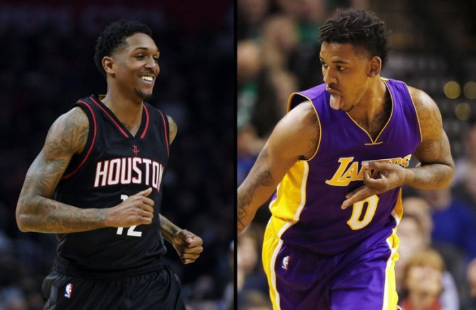 Lou Williams won't stop badgering Nick Young about money he owes him