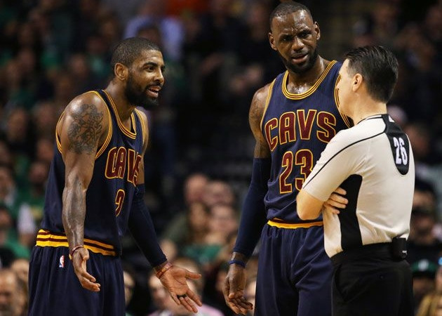 Kyrie Irving says the real '[blankety-blanks] want two,' three or four NBA championships
