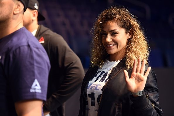 'Fight is on': Pearl Gonzalez's debut at UFC 210 gets clearance from Dana White amid breast implants row