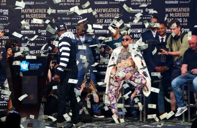 The Mayweather-McGregor media tour has derailed