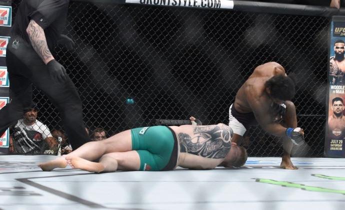 MMA fighter KO'd after loudest face-first slam