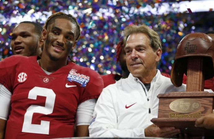 Alabama is back to burying foes, which does not bode well for college football