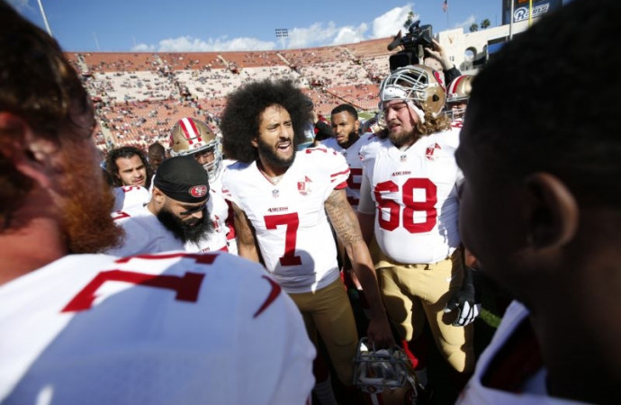 Colin Kaepernick triggered backlash but he also sparked awakening for many NFL players