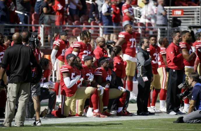 Fewer protests still too much for NFL, but league welcomes relative silence from Jerry Jones and President Trump