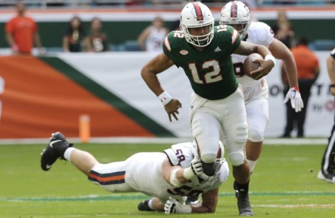 No. 3 Miami escapes Virginia's upset bid with big second half