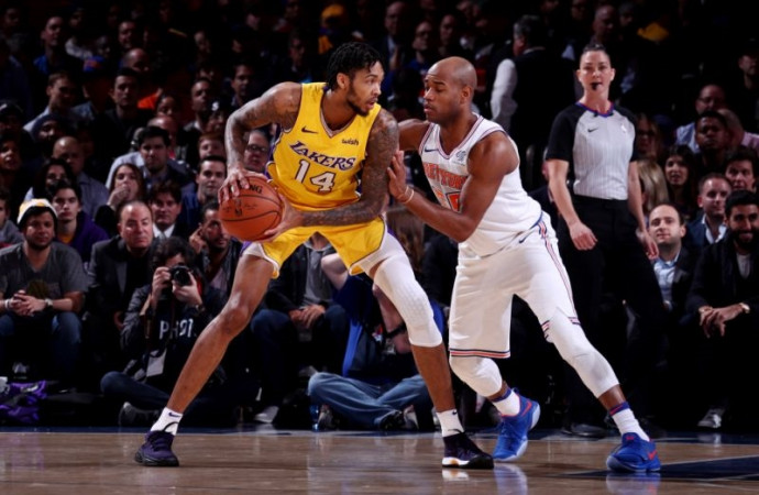 Carrying weight of Lakers' future, lithe prospect Brandon Ingram rounding into form