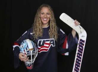After beating the boys, Alex Rigsby now wants to deliver a gold medal for U.S. women's hockey