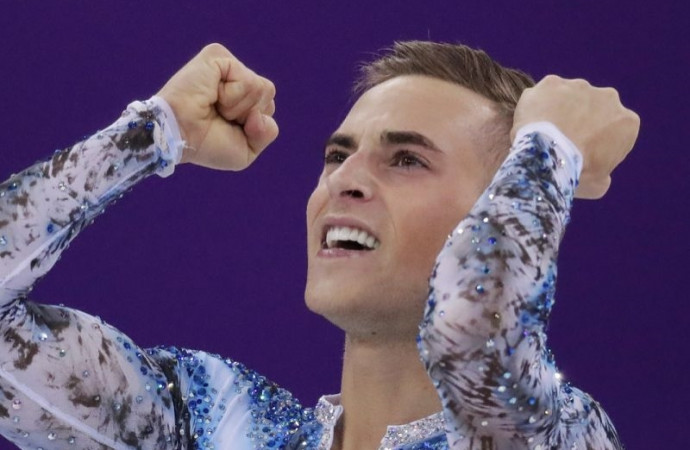 'Let the record show Adam Rippon is an Olympian': Figure skater's reach extends beyond gay community
