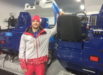 NHL players aren't at these Olympics, but their Zamboni drivers are here
