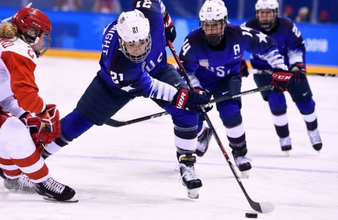 After two convincing wins, Team USA women's hockey ready for ultimate challenge in Canada