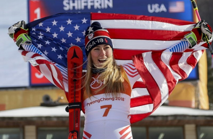 Shiffrin answers her mom's prayers with second Olympic gold medal