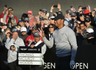Tiger Woods just did something he's never done in his PGA Tour career