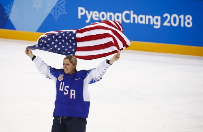 U.S. women forge new legacy by standing for all hockey players, then winning gold for themselves