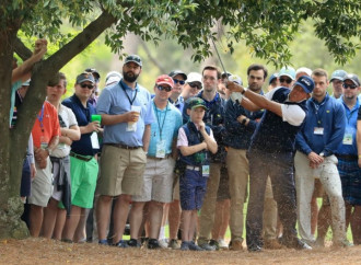 Phil Mickelson's Masters imploded in the trees at No. 9