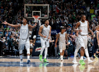 Timberwolves outlast Nuggets in OT to clinch West's final playoff berth, end 13-year postseason drought