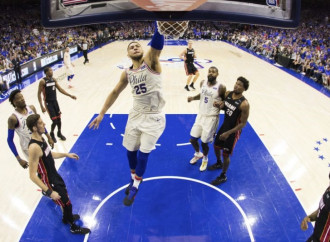 The Process finally made way for the playoffs, and the 76ers were ready for prime time