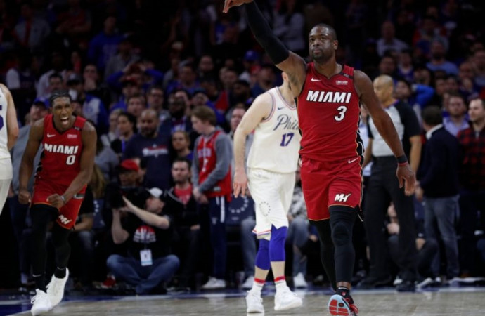 In Game 2, Dwyane Wade turned back the clock and took the Sixers to school