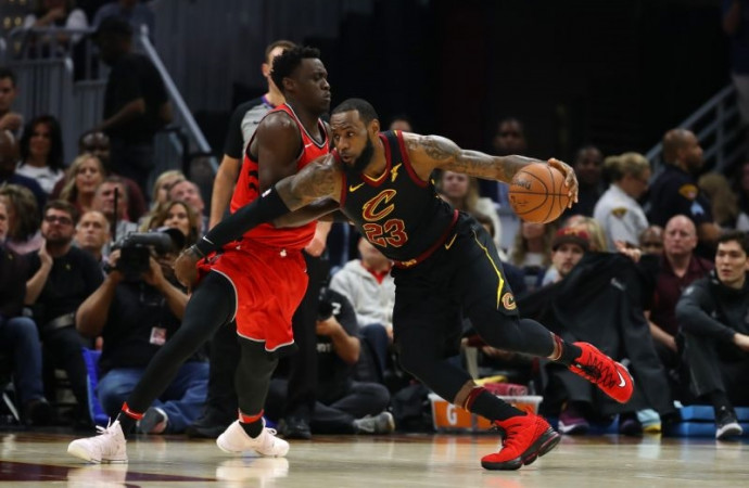 LeBron James crushes Raptors' hopes yet again as Cavaliers take 3-0 lead with 107-105 win
