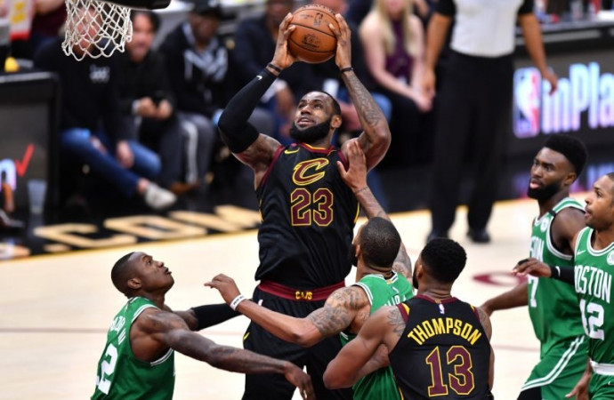 With series now even, Celtics facing a familiar source of adversity: LeBron James