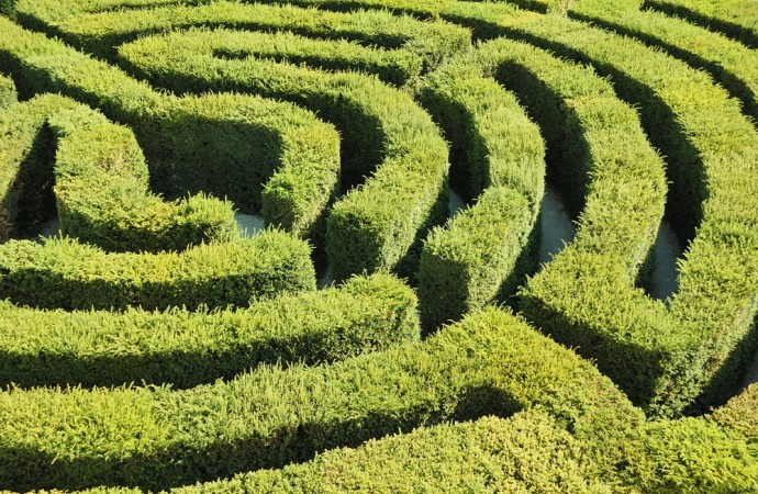 Adrian Fisher's magic of maze