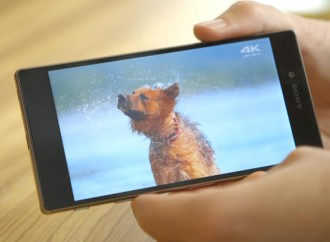 Sony presents the world's first ever 4K smartphone