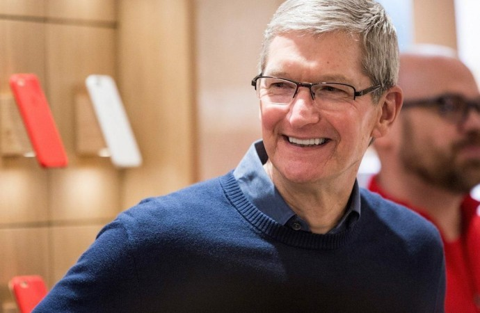Apple is the top tech company in the Fortune 500