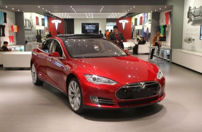 Tesla just opened a pop-up shop inside a Nordstrom