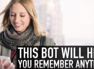 A bot that will help you remember anything