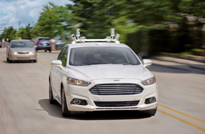 Ford wants your cabdriver to be a robot