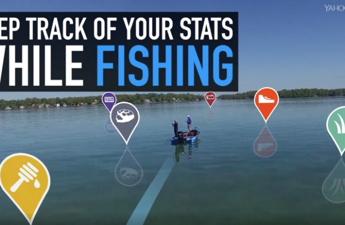 Keep track of your stats while fishing