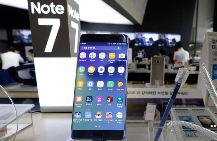 Samsung to officially recall Galaxy Note7 due to fire risks